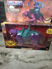 MOTU Origins Panther Flocked Exclusive Collectors Edition New