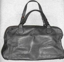KESSLORD grand sac à main cuir gris TBE