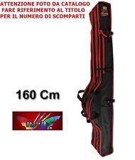 MILO FODERO PORTA CANNE SHIELD PAGLIA 160CM 2 SCOMPARTO + 1 TASCHA ESTERNA