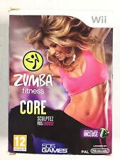 Zumba Fitness Core Wii / Jeu Sur Nintendo Wii + Ceinture
