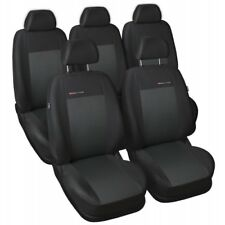 Toyota Corolla Verso II 5 Seats 2004-2009 Tailored Dimensions Seat Covers Velour