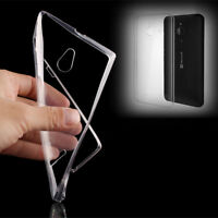 Ultra Thin Transparent Clear TPU Silicone Soft Case Skin Cover For Nokia Lumia