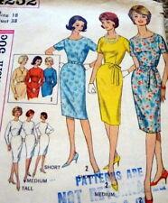 *LOVELY VTG 1960s DRESS Sewing Pattern 18/38