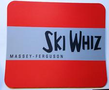 Reproduction Vintage Massey Ferguson Ski Whiz Snowmobiles Color Mouse Pad