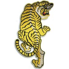 Large 11 inch tiger patch, iron on or sew on, japanese chinese, shipped from USA