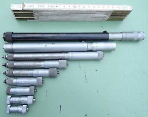 9 2-Punkt Innenmessschraube 30 - 300 mm Innenmikrometer Mikrometer Messschraube