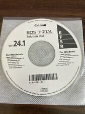 NEW CANON EOS DIGITAL SOLUTION DISK VER. 24.1 FOR WINDOWS/MAC C53-0094-03