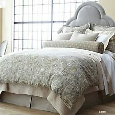 Peacock Alley Baroque Linen Duvet Cover