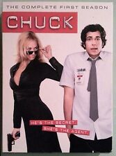 CHUCK the complete first season   DVD