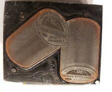 Printing Letterpress Printers Wood Block Coats Amp Clark Spool Thread Sewing Adv