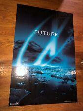 "The X-Files ""Future"" blue ice age/arctic scene(Movie promo Poster,1998)used"
