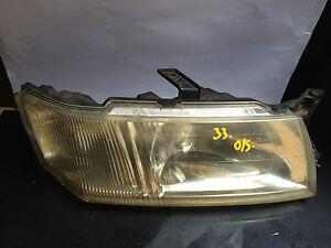 1998 ABOVE  MITSUBISHI CHARIOT OS DRIVER SIDE HEADLIGHT/HEADLAMP/LIGHT
