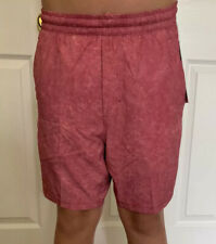 "Lululemon Men's Size M Pace Breaker Short 7 ""  Linerless Red GRVC THE Run Yoga"