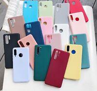 Funda Carcasa Case Silicona Compatible Con Huawei P9 P10 P20 P30 Lite Pro Color