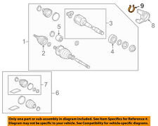 TOYOTA OEM Drive Axles-Front-Snap Ring 9052175002
