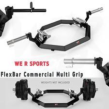 We R Sports© Commercial Multi Grip Super Hex Trap Bar Dead Lift & Shrug Bar