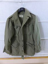 #z10/originale ww2 US Army m-1943 Field Jacket Giacca campo SMALL m43 Giacca Size 34l