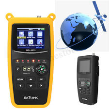 Satlink WS-6933 DVB-S2 FTA Digital Satellite Signal Finder Meter LCD  new Sale