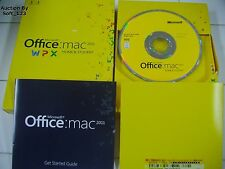 MS Microsoft Office MAC 2011 Home and Student 1 User 1 Mac =BRAND NEW BOX=