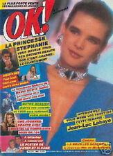 OK 469 (7/1/85) STEPHANIE DE MONACO DAVID BOWIE