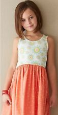 Matilda Jane Secret Fields Special Snowflake Sleeveless Dress, Girls Size 14