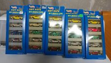 HOT WHEELS 60's Muscle Cars Lot of 5 Gift Packs #13503 1995 New
