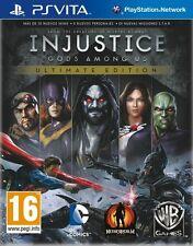 Injustice Gods Among Us Ultimate Edition PSVITA ESPAÑOL NUEVO  PRECINTADO VITA
