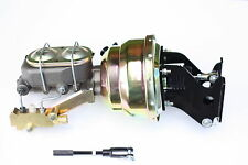 "1967-72 Chevy C10 Truck 8"" Dual Power Brake Booster Kit Side Disc/Disc 781A3"
