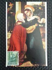 SPAIN MK 1962 MADONNA MARIA MAXIMUMKARTE CARTE MAXIMUM CARD MC CM c1654