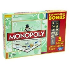 Limited Edition Target Golden Token Bonus Monopoly Game *New* First Gold Cat