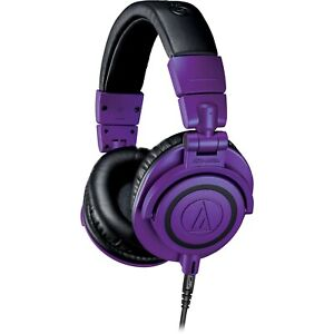 Audio-Technica ATH-M50XPB Pro Monitor Headphones - Limited Edition Purple