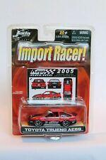 Jada Toys Import Racer Toyota Trueno AE86 Red/Black 1/64 Scale