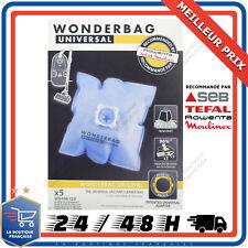Wonderbag Classic WB406120 5 Sacs Universel Sac Pour Aspirateur Rowenta