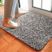 Delxo 18x30 Magic Doormat Absorbs Mud Doormat No Odor Durable Anti-Slip Rubber B