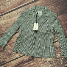 Boys check blazer sz 6 by I Gianburrasca NWT
