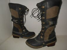 """SOREL"" Womens Sz 9  $220  ""Conquest Carly"" Snow/Rain Boots-$109.99 Fast Ship"