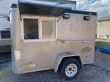 2004 Haulmark 5' x 7.5' Street Food Trailer/Used Concession Trailer for Sale in