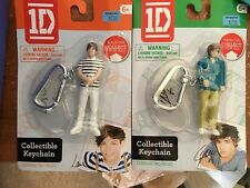 One Direction 1D Collectible Keychain Liam & Louis With Stands & Headphone Charm