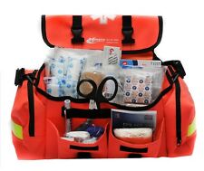 First Responder Medical Kit Emergency Response Trauma Bag Paramedic Stocked Aid