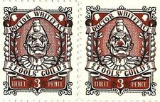 Discworld Stamp 2015 Doctor Whiteface Fools Guild Clown SPORT Red Nose Schnozzle