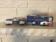 Highway Patrol Classic Tin Litho wind up Clockwork Mechanism  Toy Police Car  DL
