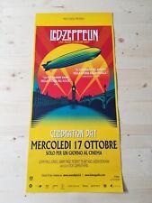 LED ZEPPELIN CELEBRATION DAY Original Concert Event Poster 33x70/12x27