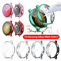 TPU Full Cover For Samsung Galaxy Watch Screen Protector Case Active 2 40mm 44mm