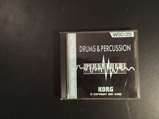 korg wavestation card wsc 2s drum percussion pcm