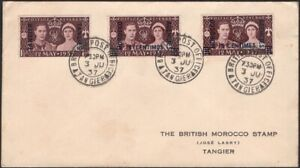 GREAT BRITAIN, 1937. Cover Morocco Agencies 82 (3), BPO Tangier