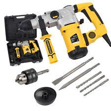SDS Bohrhammer Bohrmaschine Schlagbohrhammer 1600 W + Bohrer + Meißel + Koffer