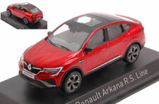 Renault arkana r.s.line 2021 flamme red 1:43 modellino auto norev scala