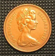 Extremely RARE - 1971 (2 NEW PENCE) Queen Elizabeth II (Museum/Gem-Quality Coin)