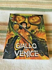 GIALLO IN VENICE Blu-Ray +RARE Slipcover & Poster UNCUT Gore/Sleaze SOLD OUT