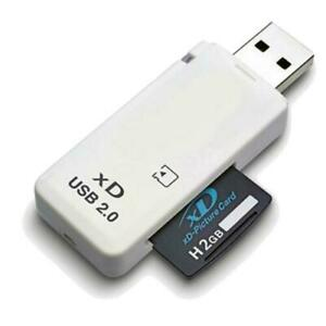 USB 2.0 XD Memory Card Reader for Olympus Fuji Cameras